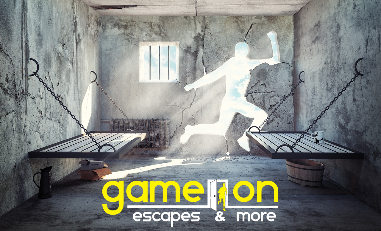 game on escape room logo