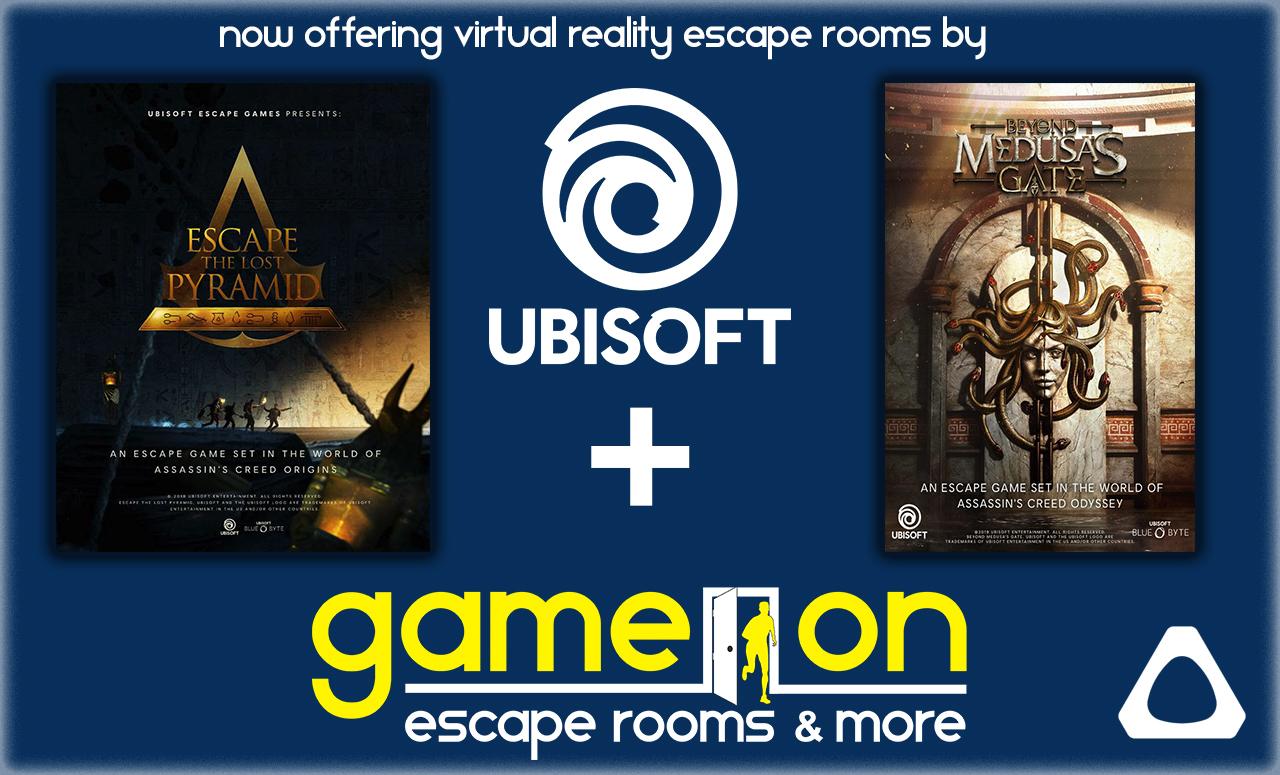 VR Escape Rooms by Ubisoft